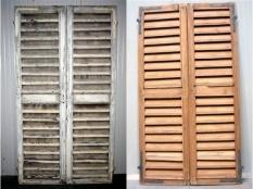 Manutenzione delle opere in legno o in ferro